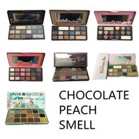 STOCK FACED Sweet peach Eyeshadow white Chocolate Bar bons S...