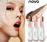 Makeup NOVO velvet gradual change double color eyeshadow pen...