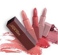 8 Colori Miss Rose Marca Trucco Colore Rosso Lip Matte Rossetto Labbra Kit Impermeabile Rossetto Matte Cosmetici Lip Nude Beauty