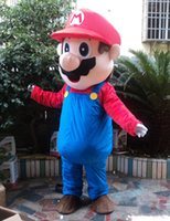 Brand New Custom made super mario bros mascot costume Free s...