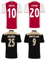 18 19 Ajax home away soccer jerseys mens top thai quality fo...
