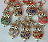 Wholesale 50pcs lot Cute Vintage Night owl Necklace Pendant ...