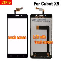 LTPro Nero Bianco Migliore Originale Display LCD Touch Screen Digitizer Assembly per Cubot X9 Mobile Panel