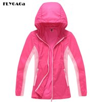 FLYGAGa Women' s Softshell Windbreaker Spring Waterproof...