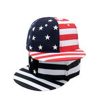 c8dc95a052b Fashion Street Dance Cool Hip Hop Caps USA Flag Snapback Snap Back Baseball  Caps Hats American Flag