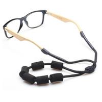 2018 Nova Ajustável Multicolor Espuma Flutuante Óculos De Sol Prender Alça de Pescoço Cinta de Óculos Cordão Retentor de Óculos