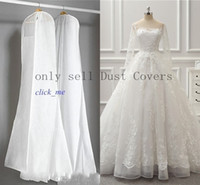 2015 Wedding Dress Gown Bags White Dust Bag Travel Storage D...