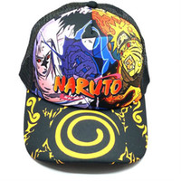 8e1ae72516a Outdoor Costume Accessories of Anime Naruto Caps Men Women Mesh Hats New  Design Baseball Caps