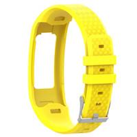 Grande sport del silicone della cinghia del cinturino braccialetto per Garmin Vivofit 1 Vivofit 2 braccialetto accessori cinturino da polso SmartWatch