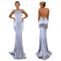 free shipping party dress maxi floor length mermaid bridal g...