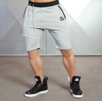 Mâle Gym Sports Shorts 3 couleurs Musle Men Porter Pantalon Cool Avec Taille D'impression M-2XL Hommes Pantalon