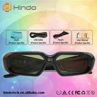 3d0e3e1adee52 DLP Link Ativo Obturador 3D Óculos Projetor óculos 3d para (Acer   Potoma    BenQ Samsung) link dlp
