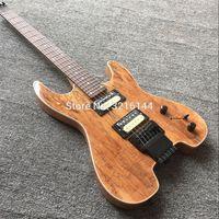 New Arriva !! Steinber headless elektrische gitaar, draagbare gitaar, natuur kleur, spalTed maple top, groothandel