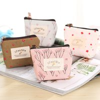 New Fashion Korean Creative Print Cute Mini Canvas Coin Purs...