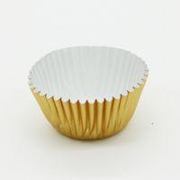 حار بيع البسيطة الذهب والفضة احباط الحالات cupcake أوراق المتشددين الكعك كعكة أكواب الخبز العفن المجمع