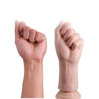 كبير اليد بالم دسار كبير شرجي التوصيل ضخمة ذراع قبضة قضبان اصطناعية الإناث الاستمناء g- بقعة مدلك الكبار المنتجات الجنس لعب للمرأة Y18110305