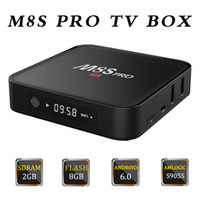 M8S Pro Android 6. 0 Tv Box Quad Core Amlogic S905X 2GB 8GB M...