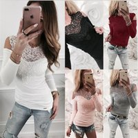 10pcs Elegant Office Lady Spring Summer Women Sexy Lace Long...