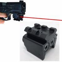 고품질 소형 전술 점선 소형 레이저 시력 빨간색 점 Lazer 시력 시력 Airsoft Laser 시력 도구