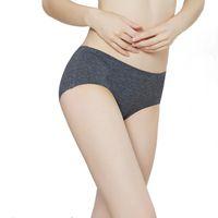 Kadınlar Seksi Dikişsiz Pamuk Külot Moda Külot Rahat Iç Çamaşırı Iç Çamaşırı Kadın Yüksek Kalite Intimates