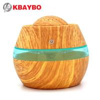 KBAYBO 300ML USB Romatherape Essential Oil Diffuser Car Portable Mini Ultrasonic Cool Maker Aromifier Air Humidifier For Home
