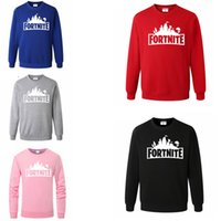 5colors Long- sleeved Pullovers letter Hoodies sports Fortnit...