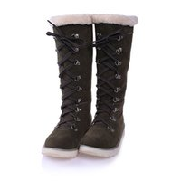 Winter fur boots winter shoes thick Fur animals warm plus si...