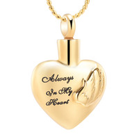Wholesale cremation jewelry for ashes stainless steel Heart ...
