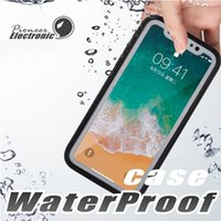 For Iphone X 8 Case S7 Waterproof Case TPU Rubber Full Boday...