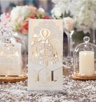 Großhandel Tischkarten Für Hochzeit Laser Cut Princess Hochzeit ...