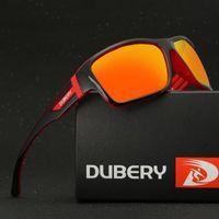 DUBERY Gafas de sol polarizadas Hombres Mujeres que conducen el deporte  Gafas de sol para hombres ce8083399b
