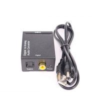 디지털 To 아날로그 오디오 컨버터 디지털 To Fiber 동축 컨버터 3.5m USB 케이블