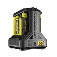 شاحن البطاريات الذكي Intelicharge I8 Eight Bays من NITECORE شاحن ذكي متعدد الفتحات لبطارية Li-ion / IMR / Ni-MH