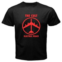 New THE CULT *Electric Peace Rock Band Men' s Black T- sh...