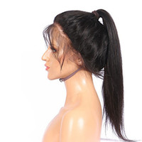 Hot Selling Natural Black Glueless Brazilian Hair Long Strai...