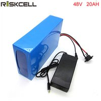 бесплатная доставка 1 шт. / лот 48 В 20AH 1000 Вт литий-ионный аккумулятор для электрического велосипеда с 54.6 В 2A зарядное устройство, BMS