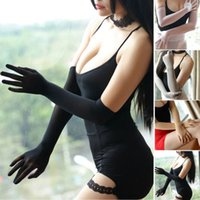 Sheer Seamless long Gloves affordable luxury Smooth pantyhos...