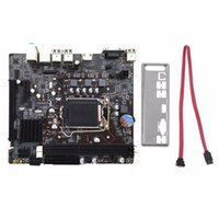 Freeshipping profesional H61 computadora placa base placa base 1155 PIN CPU Interfaz Upgrade USB2.0 DDR3 1600/1333