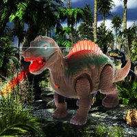 HBB Vivid Mighty Electric Walking With Sound Dinosaur Toys A...
