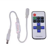 Contrôleurs à LED, télécommande RF Mini sans fil 11-Key 5-24V pour une couleur unique 3528 5050 LEDS Strip String Lights