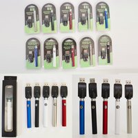 Vape Battery Vertex 350mAh VV Kit Vape 510 خراطيش Vape الخيطية البطارية خراطيش الزيت المتغيرة الجهد المرذاذ البخاخة حزمة نفطة