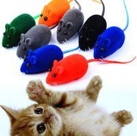 Kedi Oyuncak Fare Küçük Kemirgenler Fare Doldurulmuş Oyuncaklar Squeak Gürültü Ses Oyuncak Kedi Köpek Pet Zor Oyuncaklar Için