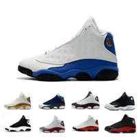 Wholesale 13 Hyper Royal mens Basketball Shoes Black Cat 3M ...