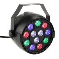 Uplights 12 luces llevadas de RGB, luz de aumento DMX activada por sonido, LED Par puede encenderse con control remoto para el cumpleaños de la boda