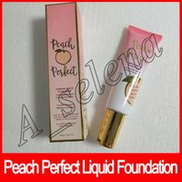 2018 New Peach Perfect Comfort Matte Liquid Foundation Conce...