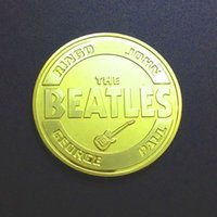 Star Beatles Gold Plated Commemorative Coin Coin Coin Custom...