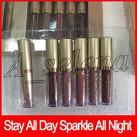 2018 Newest Stila Stay All Day Sparkle All Night Liquid Lips...