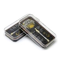 Brass Knuckles Gold Cartridges Ceramic Coil 1. 0ml Pyrex Glas...