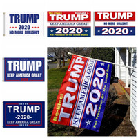 Trump 2020 Flag Print Keep America Great Banner Decor for Pr...