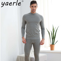 Underwear For Men Thermal Underwear Suit Undershirts and Pan...